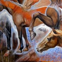 Horse Studies - Michael Rousseau