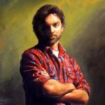 Self Portrait age 36 - Michael Rousseau