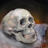 skull study - Michael Rousseau