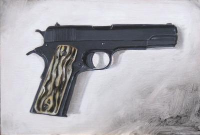Colt_1911_45_caliber - Michael Rousseau