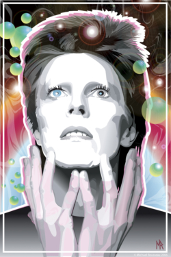 David Bowie -Michael Rousseau