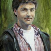 self portrait 35 - Michael Rousseau