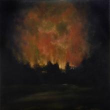 Night Landscape, Burning - Michael Rousseau